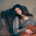 Fashion shooting of Elisa Imperi for The Mag Magazine in a old italian castle: Castello Bufalini
