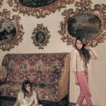 Fashion shooting of Elisa Imperi for The Mag Magazine in a old italian castle: Castello Bufalini