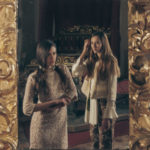 Fashion shooting of Elisa Imperi for The Mag Magazine in an old Italian castle, Castello Bufalini; with the models of the agency Mode Arezzo